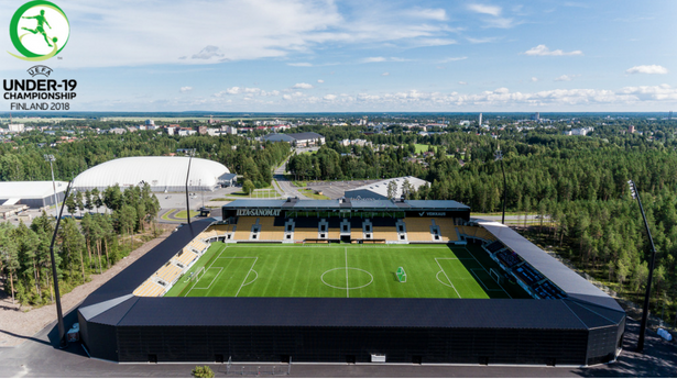 UEFA Under-19 Championship Finland 2018. Live Football in Seinäjoki & Vaasa, July 2018
