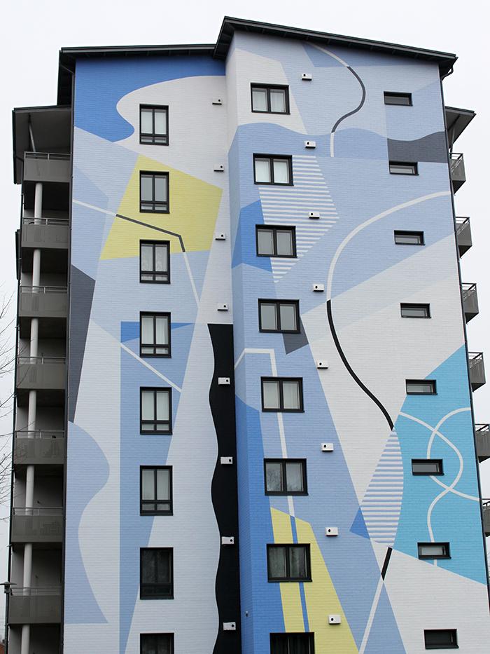 Visit Seinäjoki patsaskierros - Muraali