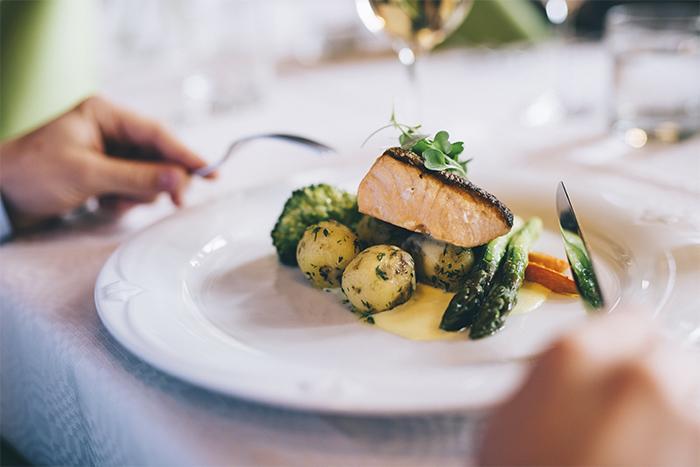 Ravintola Alma Seinäjoki herkullinen ruoka-annos