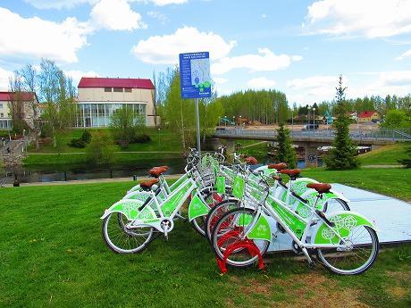 シティサイクルレンタルサービス開始