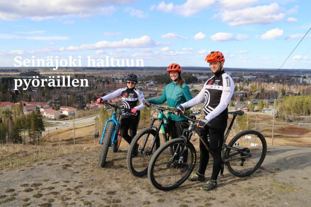 Seinäjoki pyöräily joupiskan huipulla Visit Seinäjoki