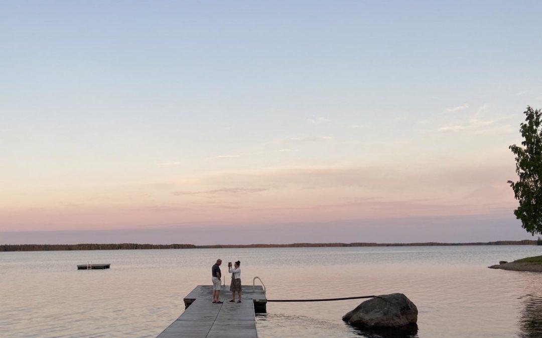 Kalajärvi lumoaa leppoisuudellaan