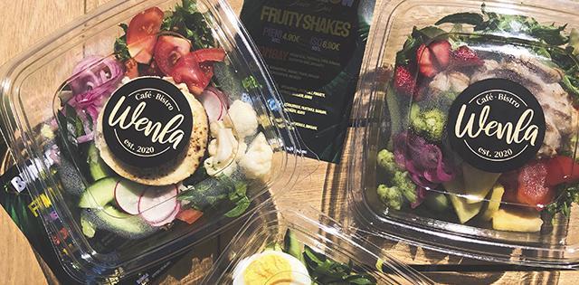 Wenla Cafe & Bistro - maukkaat ja tuoreet salaattiannokset