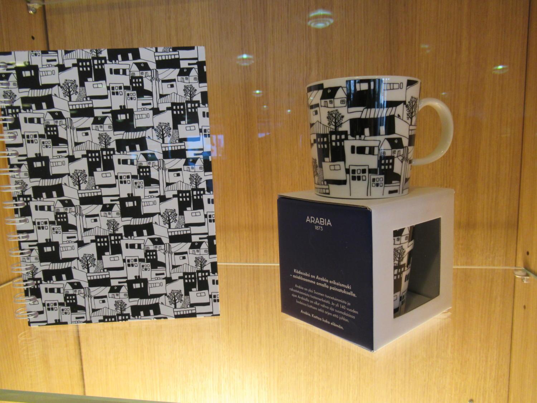 Seinäjoki mug cup and notebook