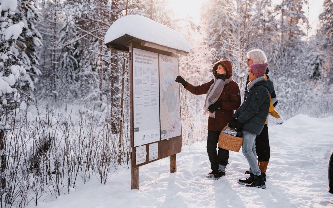 Talviset kävelyreitit Seinäjoella