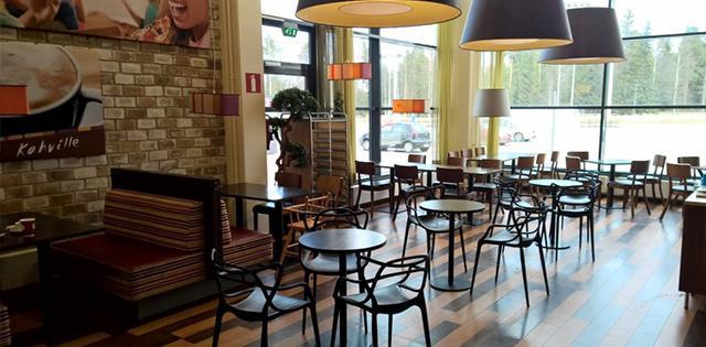 Cafe Elonen, Päivölä seinäjoki